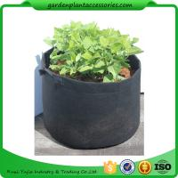China Charcoal Durable Fabric Grow Pots , Perfect Heavy Harvest Planter Raised Bed wholesale