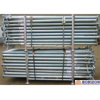 China Slab Post Shoring Adjustable Scaffolding Prop Q345 Steel Pipe For Formwork Supporting wholesale