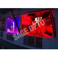 China Advertisement Rental HD Video Wall SMD 3535 / Interactive slim led display Video wholesale