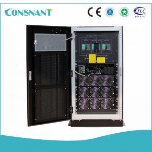 China High Capacity 4 Wire Three Phase Online Ups , Telecom Modular Type Ups Superior Energy Saving wholesale