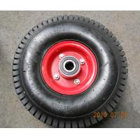 China High Quality 4PR Turf Pattern Rubber Wheel (4.10/3.50-4) wholesale