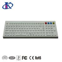 China Waterproof 2.4GHz Wireless or Bluetooth Silicone Keyboard with Optional Colors wholesale
