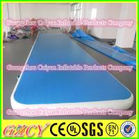 China Drop Stitch Material Inflatable Gym Mat wholesale