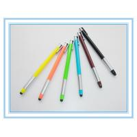 China retractable plastic stylus pen, click touch promotion pen wholesale