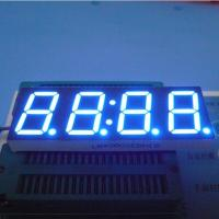 China 0.8 Inch 4 Digit Seven Segment Display Ultra Bright Blue Stable Performance wholesale