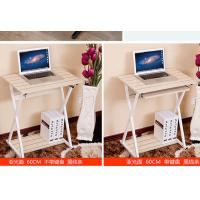 China Modern Minimalist Home Computer Desk Desktop , Notebook Small Computer Table Space wholesale