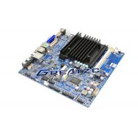 China 2 COM Ports Processor J1800 fanless itx motherboard , Industrial Embedded Motherboard wholesale