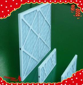 China 10x10x1 inch MERV6 MERV8 Cardboard synthetic fiber g4 disposable panel filter air wholesale