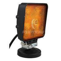 China IP67 Offroad ATV SUV LED Work Lights 4 x 4 Square 15W LED Tuning Working Light Yellow wholesale