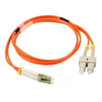 China LC Simplex / Duplex Fiber Optic Patch Cord with Low Insertion Loss wholesale