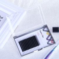 China Hand Made Individual Eyelash Extensions 0.05mm Y Shape Synthetic Hair Material wholesale