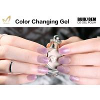 China Healthy Thermal Mood Changing Gel Nail Polish Changes Colour With Temperature wholesale