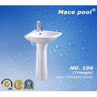 China Wash Basin Pedestal Basin Type for Bathroom Accessories  (106) wholesale