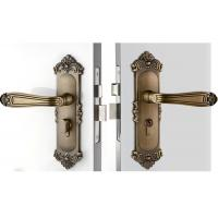 China High Hardness Room Mortise Door Lock Antique Bronze Zinc Alloy Entracne Handle Lock wholesale