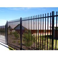 Buy cheap Australia Security Commerical Garrison Fence Panel galvanised steel palisade from wholesalers