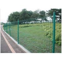 China PVC Coated Steel Wire Fencing 55mmX200mm Wire Mesh Garden Fence wholesale