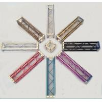 China 150 x 150MM Colorful Aluminum Mini Bolt Truss For Exhibition Booth wholesale