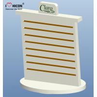 China Merchandising Pop Counter Display Racks , Slatwall Spinner Display Rack No Hooks wholesale