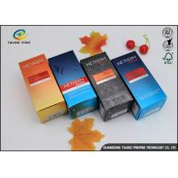 China Multi Color Custom Printed Cosmetic Packaging Boxes Iso9001 The Wet Water Packaging wholesale