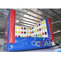 China Popular Inflatable Sport Games 3D Twister Mat Interactive Game Twister Board wholesale