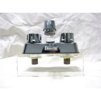 China Double Handle Classical Kitchen Sink Faucets With Plated - Zinc / Plated- Nickel Body wholesale