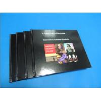 China Commercial Black glossy paper Hardcover Coffee Table Book Printing Services wholesale