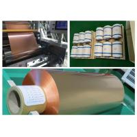 China 0.015mm Rolled Copper Foil For Parallel Hybrid Electric Vehicle Battery wholesale