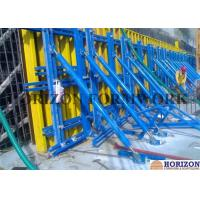 China Solid Structure Single Sided Wall Formwork Vertical Waling With Push Pull Braces wholesale