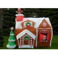 Inflatable advertising products christmas house for christmas festival