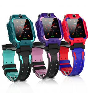 China One Key SOS Dual Camera HS6620 Kids Touch Screen Smartwatch wholesale