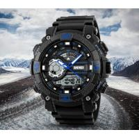 Quality New Skmei Doughty New Concept 50m Waterproof Chrono Alarm Sport PU Strap watches 1228 for sale