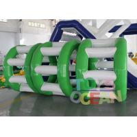 China Human Sized Hamster Ball Inflatable Water Roller Wheel 0.90mm PVC Vinyl wholesale