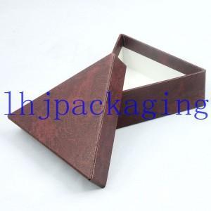 China triangle paper  box wholesale