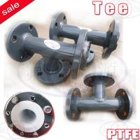 Ss ptfe lined reducing tee equal of ptfebellows