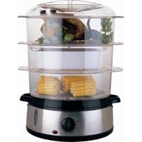 China EMFST03 / Electric Food steamer / 9L / 3 layers / S/S decoration wholesale