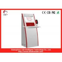 China  Self-service Outdoor Information Kiosk Freestanding , IR Touchscreen  for sale