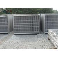 China Outdoor Steel Temporary Fencing / Site Fence Panels For Sporting Safety Events wholesale