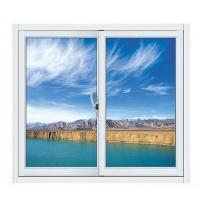 China Blue Aluminium Single Replacement Slider Window Reflective Glass Design ISO9001 / CE wholesale