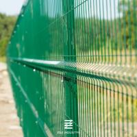 China PVC Coated 3D Welded Wire Mesh Fence Panels 1530mm X 2500mm For Garden Fence on sale
