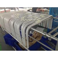 China Aksu Powder Coating CNC Bending Tubes with Holes for Aluminum Alloy Stair Chair wholesale
