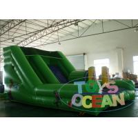Quality Inflatable Obstacle Course Monkey Jungle Battle Slide For Kids And Adults for sale