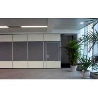 China Soundproof Material Sliding Mobile Office Partition Wall Aluminium Components on sale