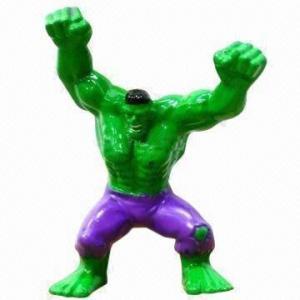 China Hulk cartoon figure toy, eco-friendly wholesale