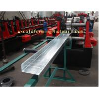 Quality C / Z Shape Automatic Changable Purlin Roll Forming Machine Hydraulic Punching for sale
