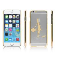 Hard PC Plastic Clear Transparent  Apple iPhone 6 protective cases and cover