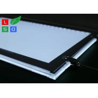 China Removable LED Light Box For Crystals , Magnetic Cover LED Slim Crystal Frame Light Box wholesale