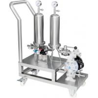 China high quality removable dual stage filter Perfume filter purification equipment wholesale
