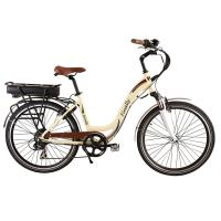 China 250W Electric Assist Commuter Bike Oil Disc Brakes Alloy Suspension Fork wholesale