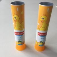 China Colourful DIA30 Kids Toothpaste Tube With Latest Wisted Off Tube Shoulder wholesale