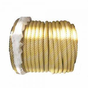 China Simple Mooring Hawser Rope , Multi Colored Nylon Rope Alkali Resistance wholesale